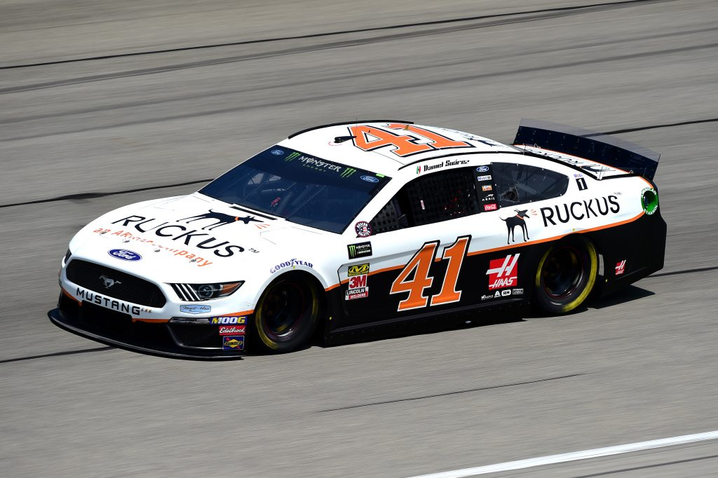 JOLIET, ILLINOIS - JUNE 29: Daniel Suarez, driver of the #41 Ruckus Ford, practices for the Monster Energy NASCAR Cup Series Camping World 400 at Chicagoland Speedway on June 29, 2019 in Joliet, Illinois. (Photo by Jared C. Tilton/Getty Images) | Getty Images