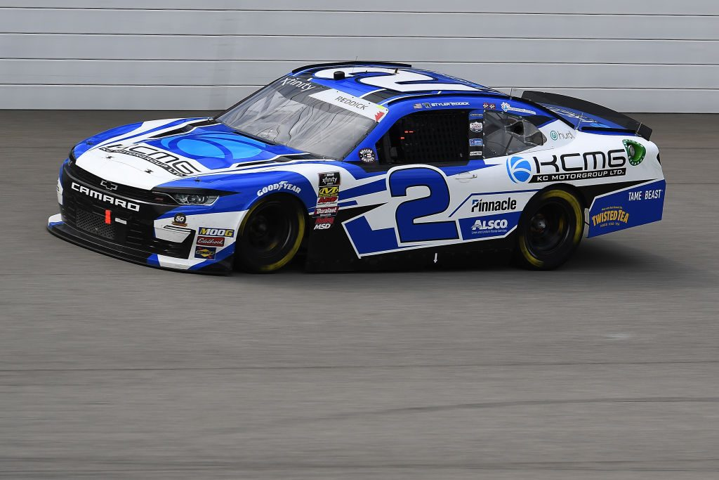 BROOKLYN, MICHIGAN - JUNE 08: Tyler Reddick, driver of the #2 KC Motorgroup Chevrolet, races during the NASCAR Xfinity Series LTi Printing 250 at Michigan International Speedway on June 08, 2019 in Brooklyn, Michigan. (Photo by Stacy Revere/Getty Images) | Getty Images