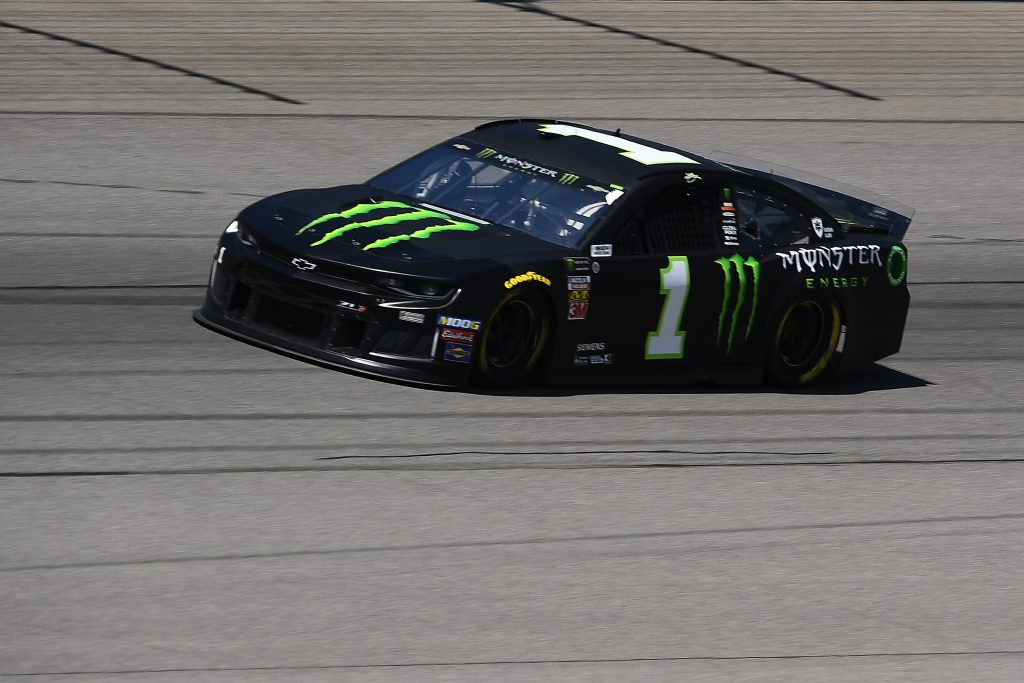 BROOKLYN, MICHIGAN - JUNE 07: Kurt Busch, driver of the #1 Monster Energy Chevrolet, drives during practice for the Monster Energy NASCAR Cup Series FireKeepers Casino 400 at Michigan International Speedway on June 07, 2019 in Brooklyn, Michigan. (Photo by Stacy Revere/Getty Images) | Getty Images