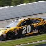 LONG POND, PENNSYLVANIA - MAY 31: Erik Jones, driver of the #20 DeWalt Toyota, practices for the Monster Energy NASCAR Cup Series Pocono 400 at Pocono Raceway on May 31, 2019 in Long Pond, Pennsylvania. (Photo by Jonathan Ferrey/Getty Images) | Getty Images