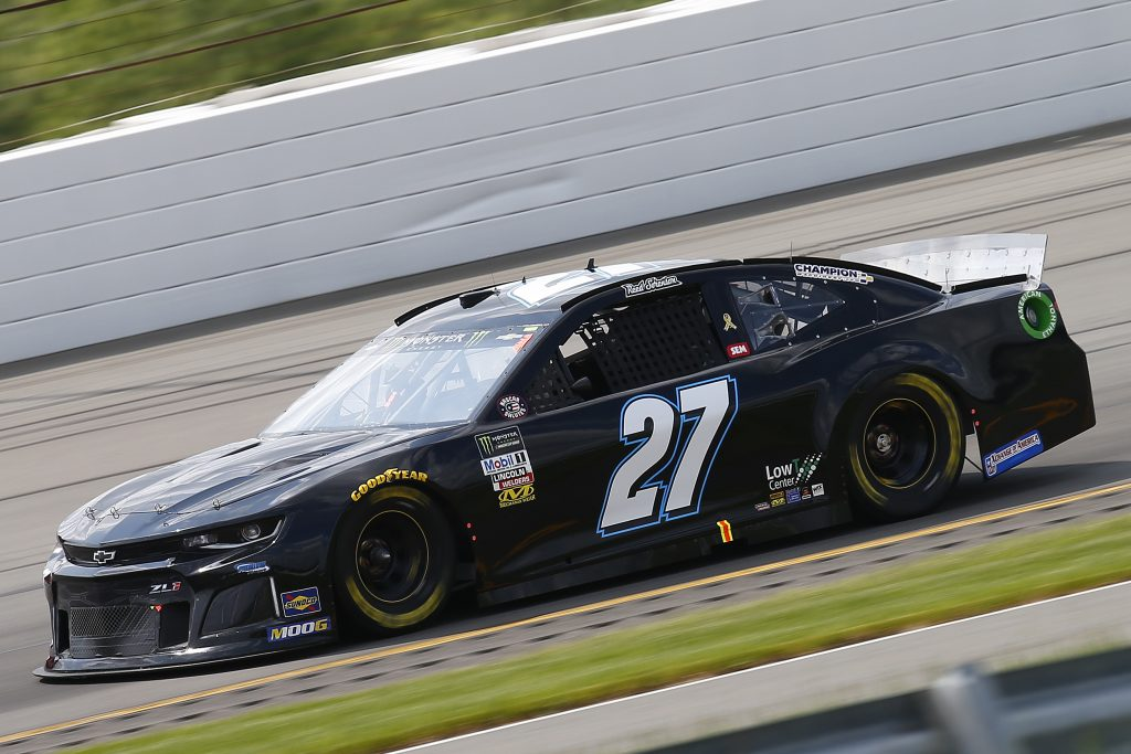 LONG POND, PENNSYLVANIA - MAY 31: Reed Sorenson, driver of the #27 VIPRacingExperience.com Chevrolet, practices for the Monster Energy NASCAR Cup Series Pocono 400 at Pocono Raceway on May 31, 2019 in Long Pond, Pennsylvania. (Photo by Jonathan Ferrey/Getty Images) | Getty Images
