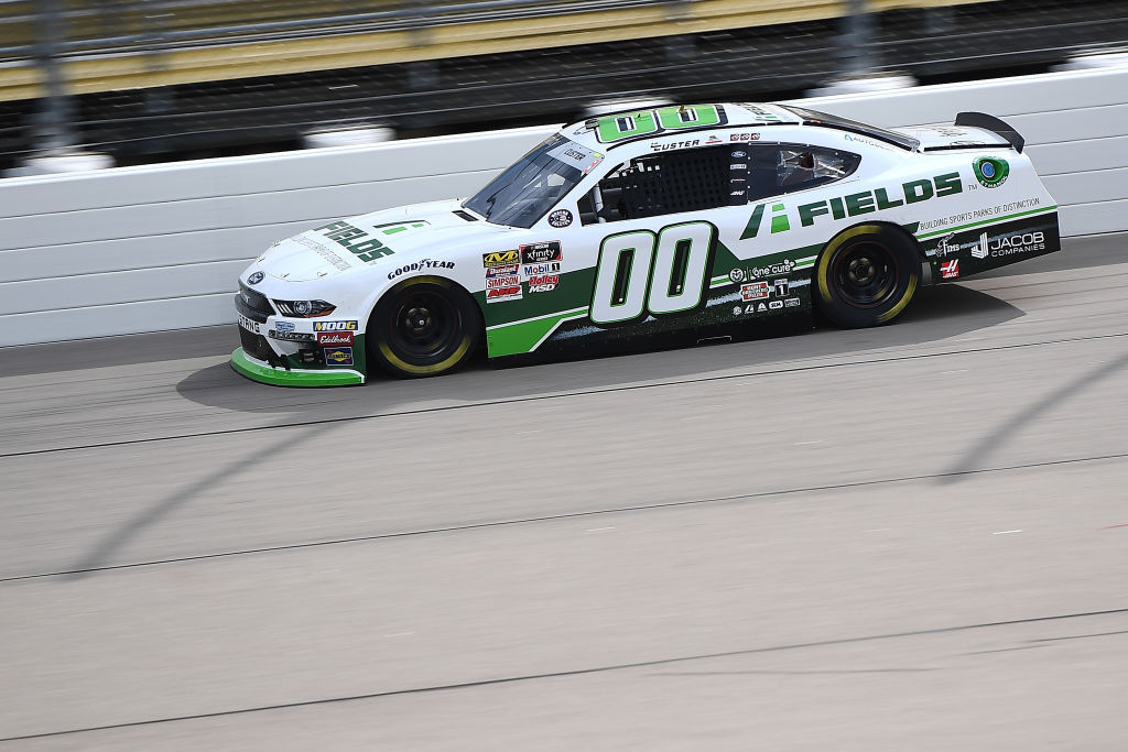 NEWTON, IOWA - JUNE 15: Cole Custer, driver of the #00 FIELDS Ford, drives during the NASCAR Xfinity Series CircuitCity.com 250 at Iowa Speedway on June 15, 2019 in Newton, Iowa. (Photo by Stacy Revere/Getty Images)   Getty Images