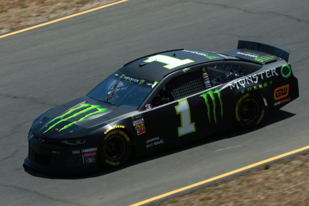 SONOMA, CALIFORNIA - JUNE 21: Kurt Busch, driver of the #1 Monster Energy Chevrolet, practices for the Monster Energy NASCAR Cup Series Toyota/Save Mart 350 at Sonoma Raceway on June 21, 2019 in Sonoma, California. (Photo by Sean Gardner/Getty Images) | Getty Images