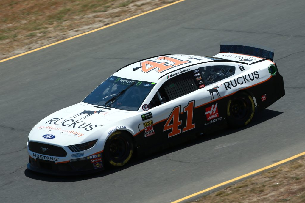 SONOMA, CALIFORNIA - JUNE 21: Daniel Suarez, driver of the #41 Ruckus Ford, practices for the Monster Energy NASCAR Cup Series Toyota/Save Mart 350 at Sonoma Raceway on June 21, 2019 in Sonoma, California. (Photo by Sean Gardner/Getty Images) | Getty Images