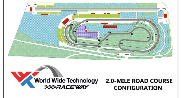 WWT Raceway road course layout