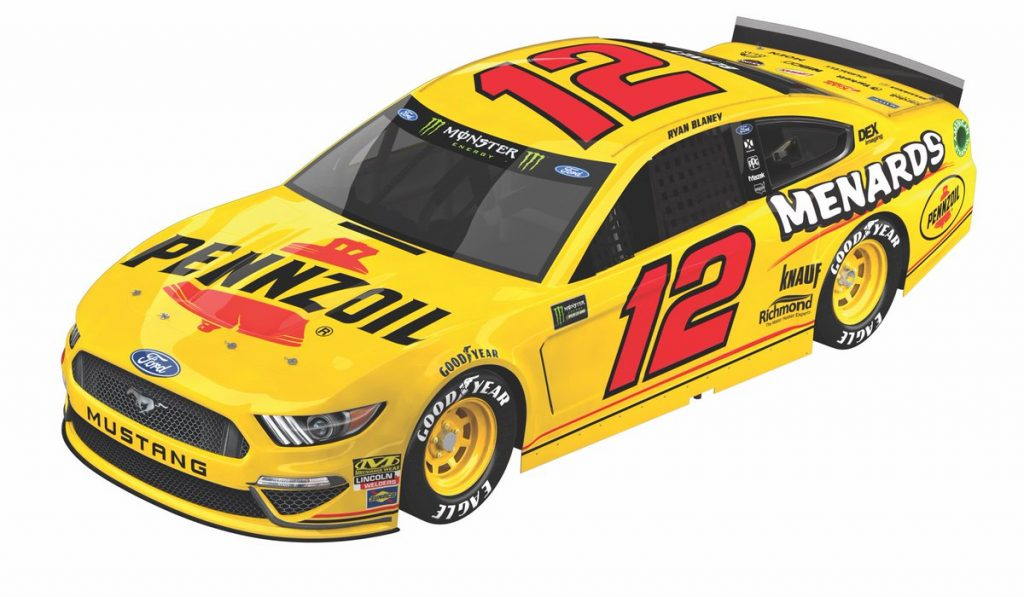 12 Pennzoil Throwback