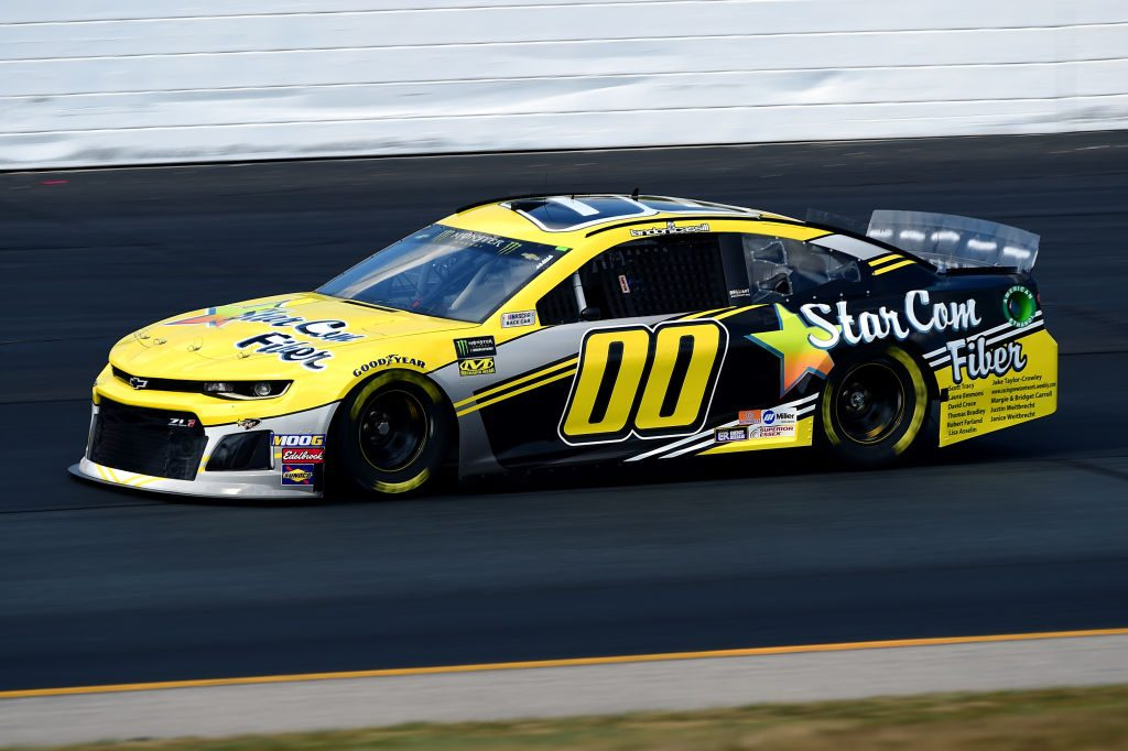 LOUDON, NEW HAMPSHIRE - JULY 19: Landon Cassill, driver of the #00 StarCom Fiber Chevrolet, qualifies for the Monster Energy NASCAR Cup Series Foxwoods Resort Casino 301 at New Hampshire Motor Speedway on July 19, 2019 in Loudon, New Hampshire. (Photo by Jared C. Tilton/Getty Images) | Getty Images