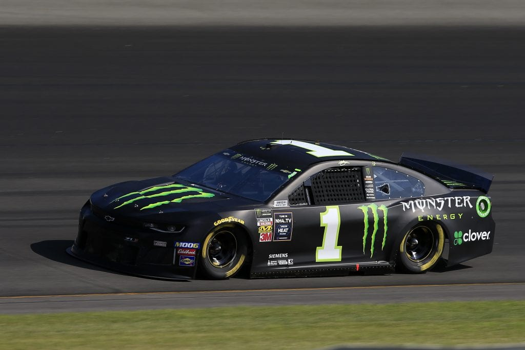 LONG POND, PENNSYLVANIA - JULY 27: Kurt Busch, driver of the #1 Monster Energy Chevrolet, qualifies for the Monster Energy NASCAR Cup Series Gander RV 400 at Pocono Raceway on July 27, 2019 in Long Pond, Pennsylvania. (Photo by Chris Trotman/Getty Images) | Getty Images