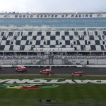 DAYTONA BEACH, FLORIDA - JULY 06: The NASCAR Air Titan Track Drying Team works on the track before the Monster Energy NASCAR Cup Series Coke Zero Sugar 400 at Daytona International Speedway on July 06, 2019 in Daytona Beach, Florida. (Photo by Brian Lawdermilk/Getty Images) | Getty Images