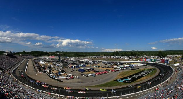 LOUDON, NEW HAMPSHIRE - JULY 21: General view of action during the Monster Energy NASCAR Cup Series Foxwoods Resort Casino 301 at New Hampshire Motor Speedway on July 21, 2019 in Loudon, New Hampshire. (Photo by Chris Trotman/Getty Images)   Getty Images