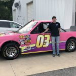 Jake Griffin With His Eldora Truck