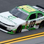 DAYTONA BEACH, FLORIDA - JULY 05: AJ Allmendinger, driver of the #10 Cornerstone Produce Group Chevrolet, qualifies for the NASCAR Xfinity Series Circle K Firecracker 250 Powered by Coca-Cola at Daytona International Speedway on July 05, 2019 in Daytona Beach, Florida. (Photo by Jared C. Tilton/Getty Images) | Getty Images