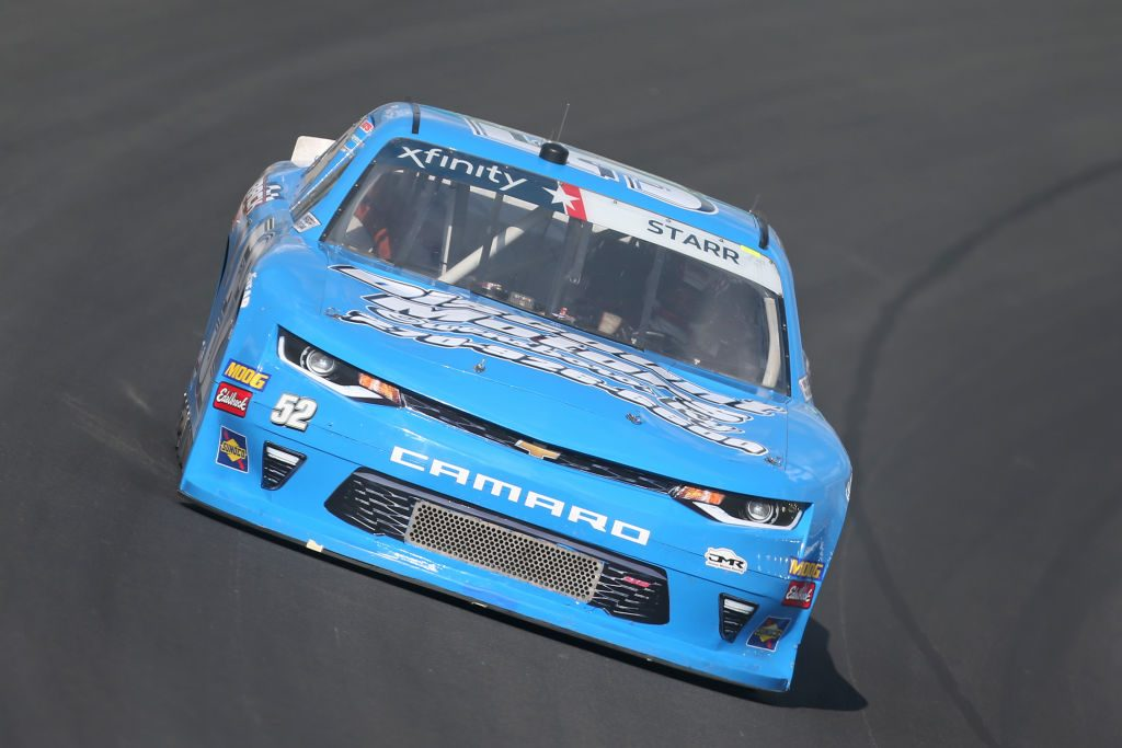 SPARTA, KENTUCKY - JULY 11: David Starr, driver of the #52 CircleTrack/DiscountMotors/DonAdamsT Chevrolet, drives during practice for the NASCAR Xfinity Series Alsco 300 at Kentucky Speedway on July 11, 2019 in Sparta, Kentucky. (Photo by Matt Sullivan/Getty Images) | Getty Images