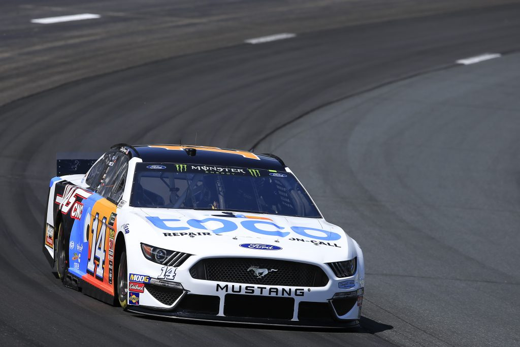 LOUDON, NEW HAMPSHIRE - JULY 19: Clint Bowyer, driver of the #14 Toco Warranty/Haas Automation Ford, practices for the Monster Energy NASCAR Cup Series Foxwoods Resort Casino 301 at New Hampshire Motor Speedway on July 19, 2019 in Loudon, New Hampshire. (Photo by Chris Trotman/Getty Images) | Getty Images