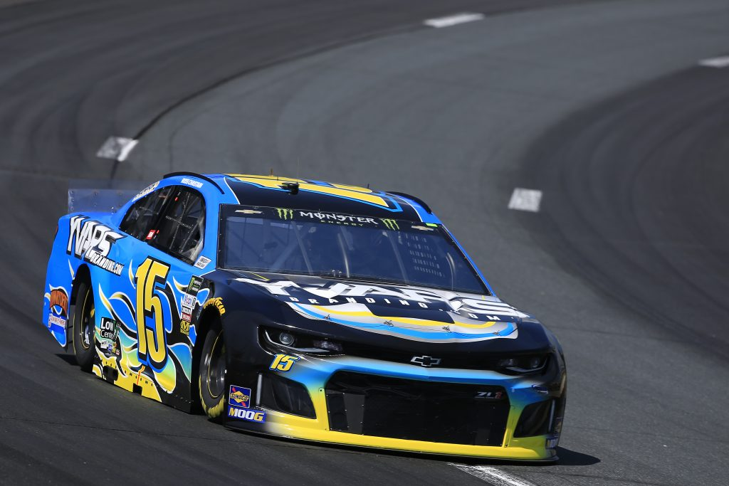 LOUDON, NEW HAMPSHIRE - JULY 19: Ross Chastain, driver of the #15 YVARS Branding.com Chevrolet, practices for the Monster Energy NASCAR Cup Series Foxwoods Resort Casino 301 at New Hampshire Motor Speedway on July 19, 2019 in Loudon, New Hampshire. (Photo by Chris Trotman/Getty Images) | Getty Images