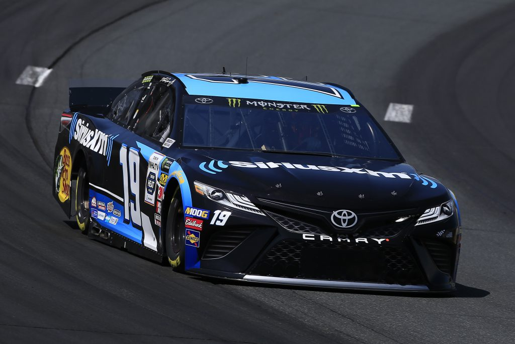 LOUDON, NEW HAMPSHIRE - JULY 19: Martin Truex Jr, driver of the #19 Sirius XM Toyota, practices for the Monster Energy NASCAR Cup Series Foxwoods Resort Casino 301 at New Hampshire Motor Speedway on July 19, 2019 in Loudon, New Hampshire. (Photo by Chris Trotman/Getty Images) | Getty Images