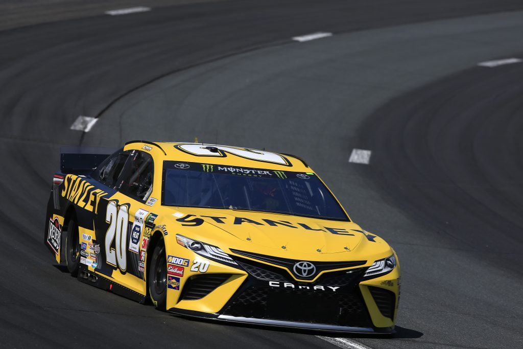 LOUDON, NEW HAMPSHIRE - JULY 19: Erik Jones, driver of the #20 STANLEY Toyota, practices for the Monster Energy NASCAR Cup Series Foxwoods Resort Casino 301 at New Hampshire Motor Speedway on July 19, 2019 in Loudon, New Hampshire. (Photo by Chris Trotman/Getty Images) | Getty Images