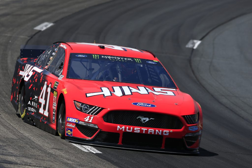 LOUDON, NEW HAMPSHIRE - JULY 19: Daniel Suarez, driver of the #41 Haas Automation Ford, practices for the Monster Energy NASCAR Cup Series Foxwoods Resort Casino 301 at New Hampshire Motor Speedway on July 19, 2019 in Loudon, New Hampshire. (Photo by Chris Trotman/Getty Images) | Getty Images