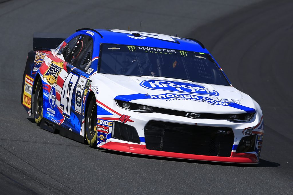 LOUDON, NEW HAMPSHIRE - JULY 19: Ryan Preece, driver of the #47 Kroger Chevrolet, practices for the Monster Energy NASCAR Cup Series Foxwoods Resort Casino 301 at New Hampshire Motor Speedway on July 19, 2019 in Loudon, New Hampshire. (Photo by Chris Trotman/Getty Images) | Getty Images