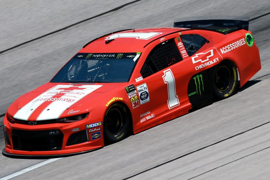 DARLINGTON, SOUTH CAROLINA - AUGUST 30: Kurt Busch, driver of the #1 Chevrolet Accessories Chevrolet, practices for the Monster Energy NASCAR Cup Series Bojangles' Southern 500 at Darlington Raceway on August 30, 2019 in Darlington, South Carolina. (Photo by Sean Gardner/Getty Images) | Getty Images