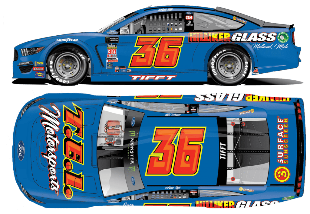 2019 36 Darlington Throwback