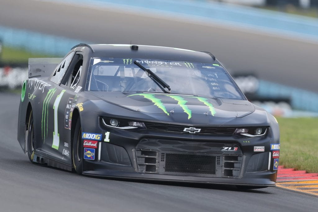 WATKINS GLEN, NEW YORK - AUGUST 03: Kurt Busch, driver of the #1 Monster Energy Chevrolet, drives during practice for the Monster Energy NASCAR Cup Series Go Bowling at The Glen at Watkins Glen International on August 03, 2019 in Watkins Glen, New York. (Photo by Matt Sullivan/Getty Images) | Getty Images