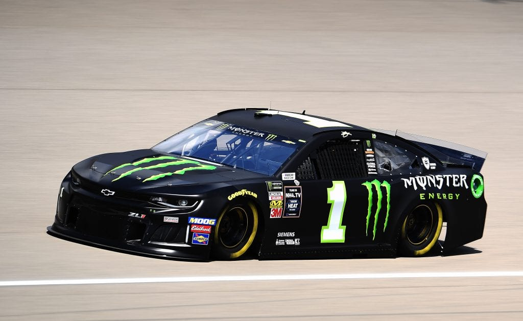 BROOKLYN, MICHIGAN - AUGUST 09: Kurt Busch, driver of the #1 Monster Energy Chevrolet, drives during practice for the Monster Energy NASCAR Cup Series Consumers Energy 400 at Michigan International Speedway on August 09, 2019 in Brooklyn, Michigan. (Photo by Stacy Revere/Getty Images) | Getty Images