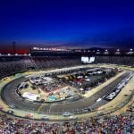 BRISTOL, TENNESSEE - AUGUST 17: A general view of the action during the Monster Energy NASCAR Cup Series Bass Pro Shops NRA Night Race at Bristol Motor Speedway on August 17, 2019 in Bristol, Tennessee. (Photo by Jared C. Tilton/Getty Images) | Getty Images