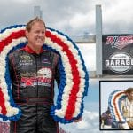 Talladega Wallace Wreath