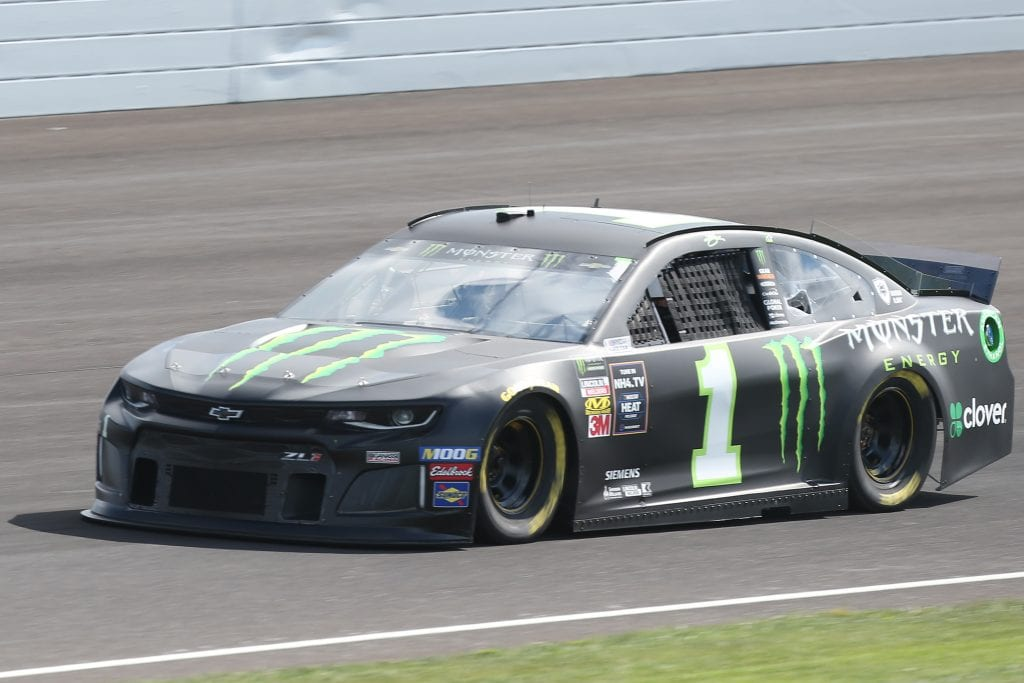 INDIANAPOLIS, INDIANA - SEPTEMBER 07: Kurt Busch, driver of the #1 Monster Energy Chevrolet, drives during practice for the Monster Energy NASCAR Cup Series Big Machine Vodka 400 at Indianapolis Motor Speedway on September 07, 2019 in Indianapolis, Indiana. (Photo by Matt Sullivan/Getty Images) | Getty Images