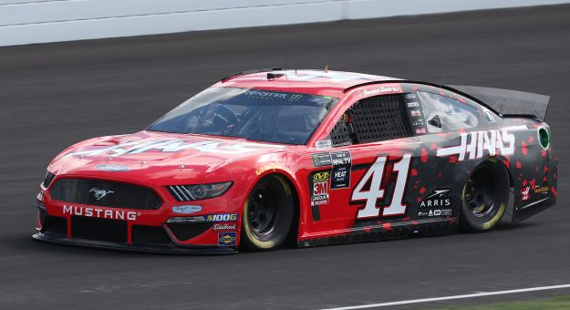 INDIANAPOLIS, INDIANA - SEPTEMBER 07: Daniel Suarez, driver of the #41 Haas Automation Ford, drives during practice for the Monster Energy NASCAR Cup Series Big Machine Vodka 400 at Indianapolis Motor Speedway on September 07, 2019 in Indianapolis, Indiana. (Photo by Matt Sullivan/Getty Images) | Getty Images