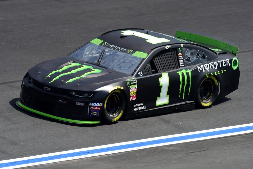 CHARLOTTE, NORTH CAROLINA - SEPTEMBER 27: Kurt Busch, driver of the #1 Monster Energy Chevrolet, practices for the Monster Energy NASCAR Cup Series Bank of America ROVAL 400 at Charlotte Motor Speedway on September 27, 2019 in Charlotte, North Carolina. (Photo by Jared C. Tilton/Getty Images) | Getty Images