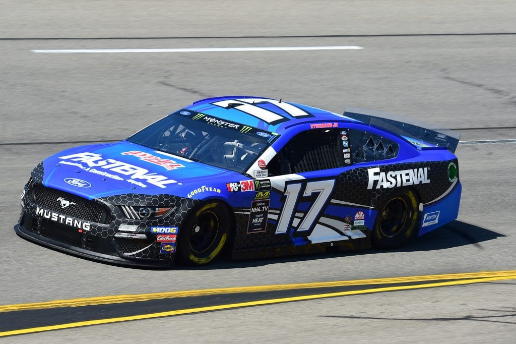 RICHMOND, VIRGINIA - SEPTEMBER 20: Ricky Stenhouse Jr., driver of the #17 Fastenal Ford, practices for the Monster Energy NASCAR Cup Series Federated Auto Parts 400 at Richmond Raceway on September 20, 2019 in Richmond, Virginia. (Photo by Jared C. Tilton/Getty Images) | Getty Images