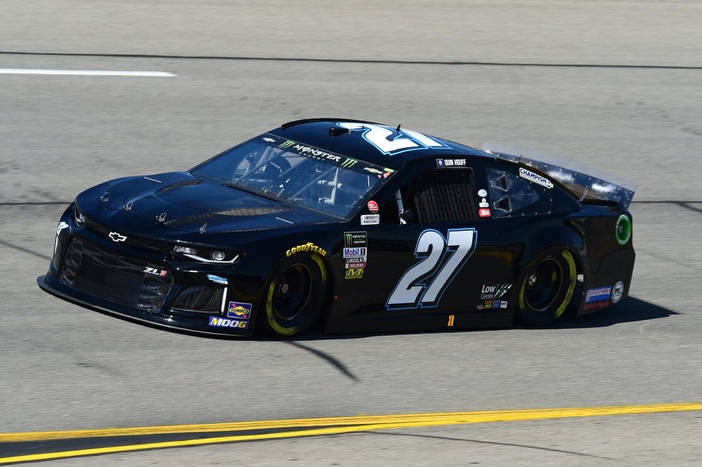 RICHMOND, VIRGINIA - SEPTEMBER 20: Quin Houff, driver of the #27 Chevrolet, practices for the Monster Energy NASCAR Cup Series Federated Auto Parts 400 at Richmond Raceway on September 20, 2019 in Richmond, Virginia. (Photo by Jared C. Tilton/Getty Images) | Getty Images