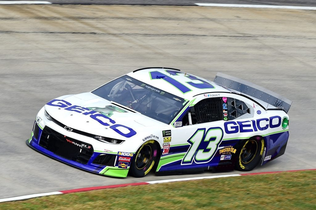 MARTINSVILLE, VIRGINIA - OCTOBER 26: Ty Dillon, driver of the #13 GEICO Chevrolet, practices for the Monster Energy NASCAR Cup Series First Data 500 at Martinsville Speedway on October 26, 2019 in Martinsville, Virginia. (Photo by Jared C. Tilton/Getty Images) | Getty Images