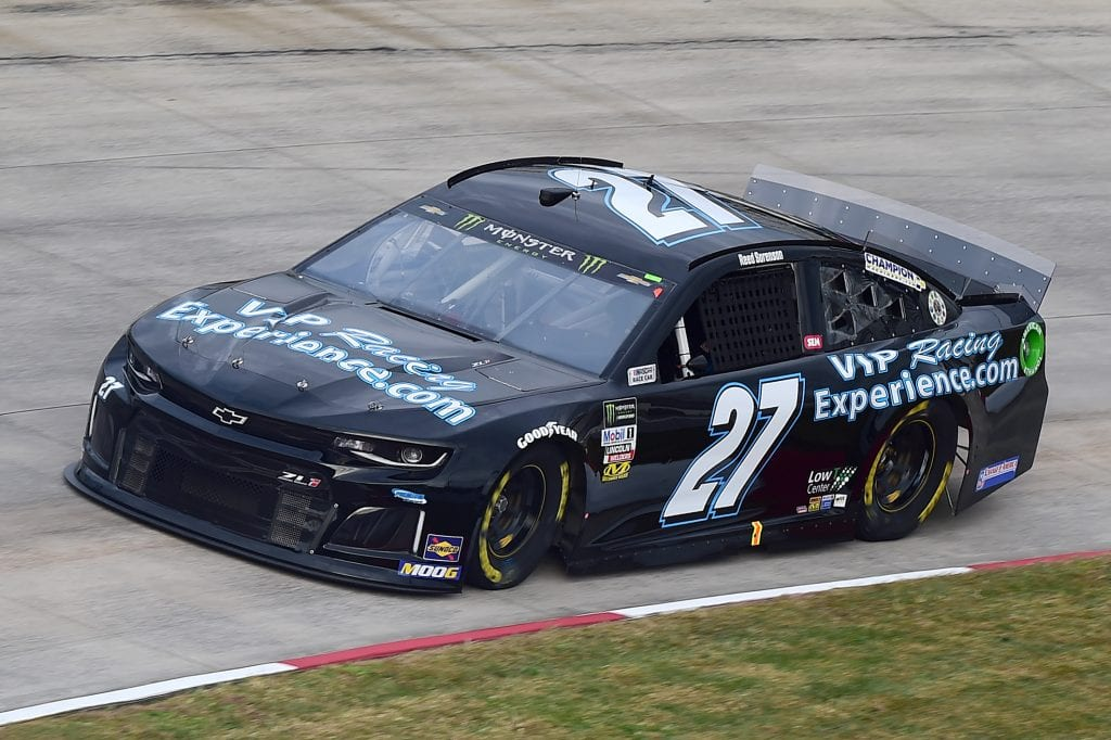 MARTINSVILLE, VIRGINIA - OCTOBER 26: Reed Sorenson, driver of the #27 VIPRacingExperience.com Chevrolet, practices for the Monster Energy NASCAR Cup Series First Data 500 at Martinsville Speedway on October 26, 2019 in Martinsville, Virginia. (Photo by Jared C. Tilton/Getty Images) | Getty Images