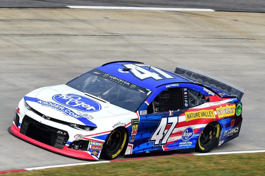 MARTINSVILLE, VIRGINIA - OCTOBER 26: Ryan Preece, driver of the #47 Kroger Chevrolet, practices for the Monster Energy NASCAR Cup Series First Data 500 at Martinsville Speedway on October 26, 2019 in Martinsville, Virginia. (Photo by Jared C. Tilton/Getty Images) | Getty Images