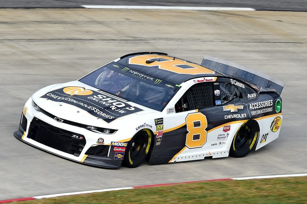 MARTINSVILLE, VIRGINIA - OCTOBER 26: Daniel Hemric, driver of the #8 Chevrolet Accessories Chevrolet, practices for the Monster Energy NASCAR Cup Series First Data 500 at Martinsville Speedway on October 26, 2019 in Martinsville, Virginia. (Photo by Jared C. Tilton/Getty Images) | Getty Images