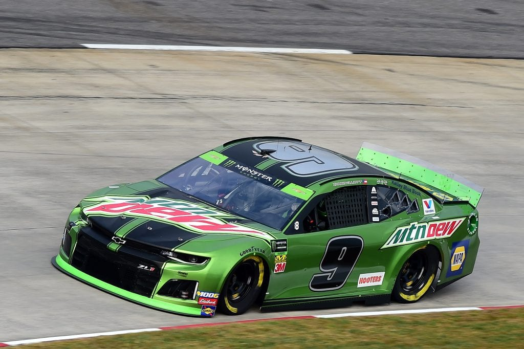 MARTINSVILLE, VIRGINIA - OCTOBER 26: Chase Elliott, driver of the #9 Mountain Dew Chevrolet, practices for the Monster Energy NASCAR Cup Series First Data 500 at Martinsville Speedway on October 26, 2019 in Martinsville, Virginia. (Photo by Jared C. Tilton/Getty Images) | Getty Images