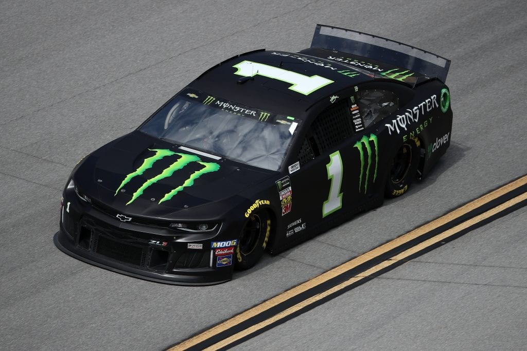 TALLADEGA, ALABAMA - OCTOBER 11: Kurt Busch, driver of the #1 Monster Energy Chevrolet, during practice for the Monster Energy NASCAR Cup Series 1000Bulbs.com 500 at Talladega Superspeedway on October 11, 2019 in Talladega, Alabama. (Photo by Chris Graythen/Getty Images) | Getty Images