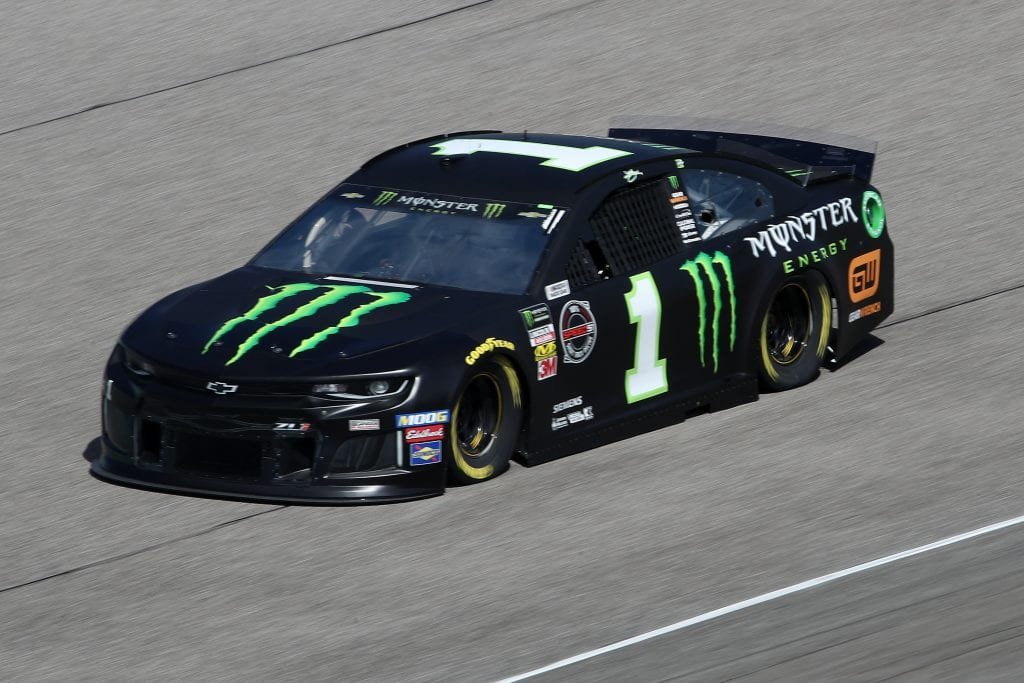 HOMESTEAD, FLORIDA - NOVEMBER 16: Kurt Busch, driver of the #1 Monster Energy Chevrolet, drives during practice for the Monster Energy NASCAR Cup Series Ford EcoBoost 400 at Homestead-Miami Speedway on November 16, 2019 in Homestead, Florida. (Photo by Chris Graythen/Getty Images) | Getty Images