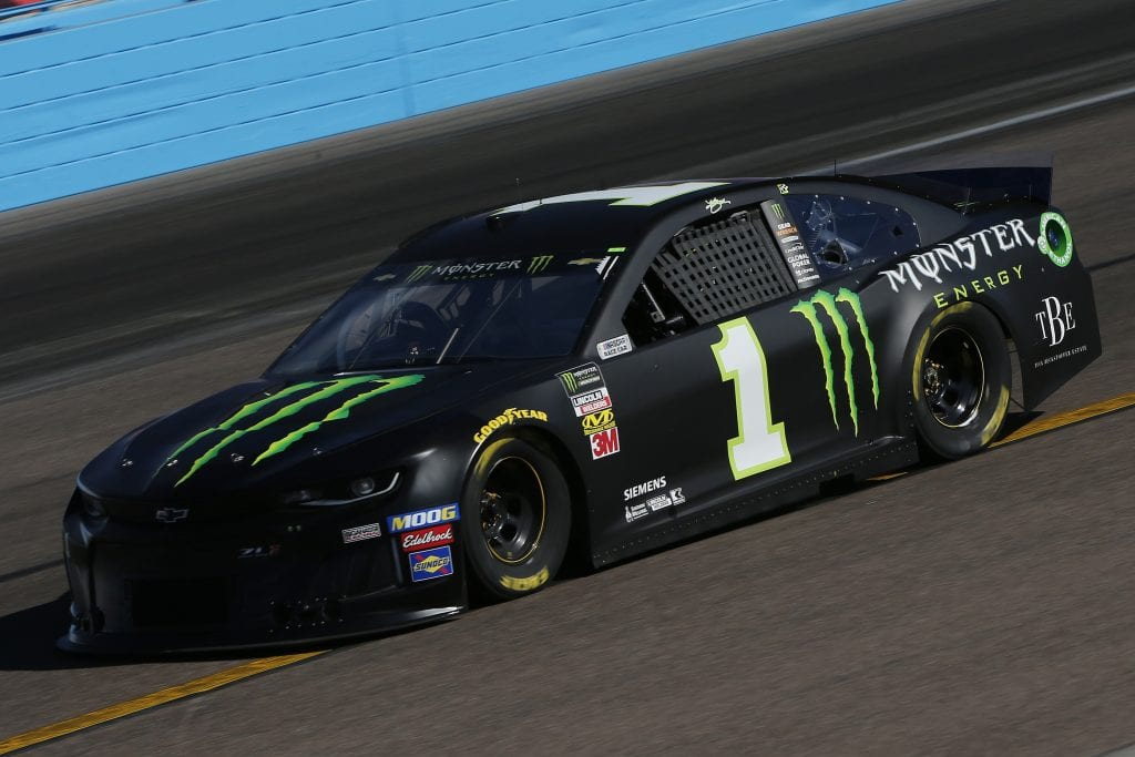 AVONDALE, ARIZONA - NOVEMBER 08: Kurt Busch, driver of the #1 Monster Energy Chevrolet, practices for the Monster Energy NASCAR Cup Series Bluegreen Vacations 500 at ISM Raceway on November 08, 2019 in Avondale, Arizona. (Photo by Jonathan Ferrey/Getty Images) | Getty Images