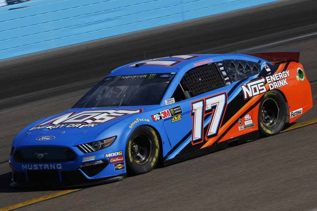 AVONDALE, ARIZONA - NOVEMBER 08: Ricky Stenhouse Jr., driver of the #17 NOS Energy Ford, practices for the Monster Energy NASCAR Cup Series Bluegreen Vacations 500 at ISM Raceway on November 08, 2019 in Avondale, Arizona. (Photo by Jonathan Ferrey/Getty Images) | Getty Images