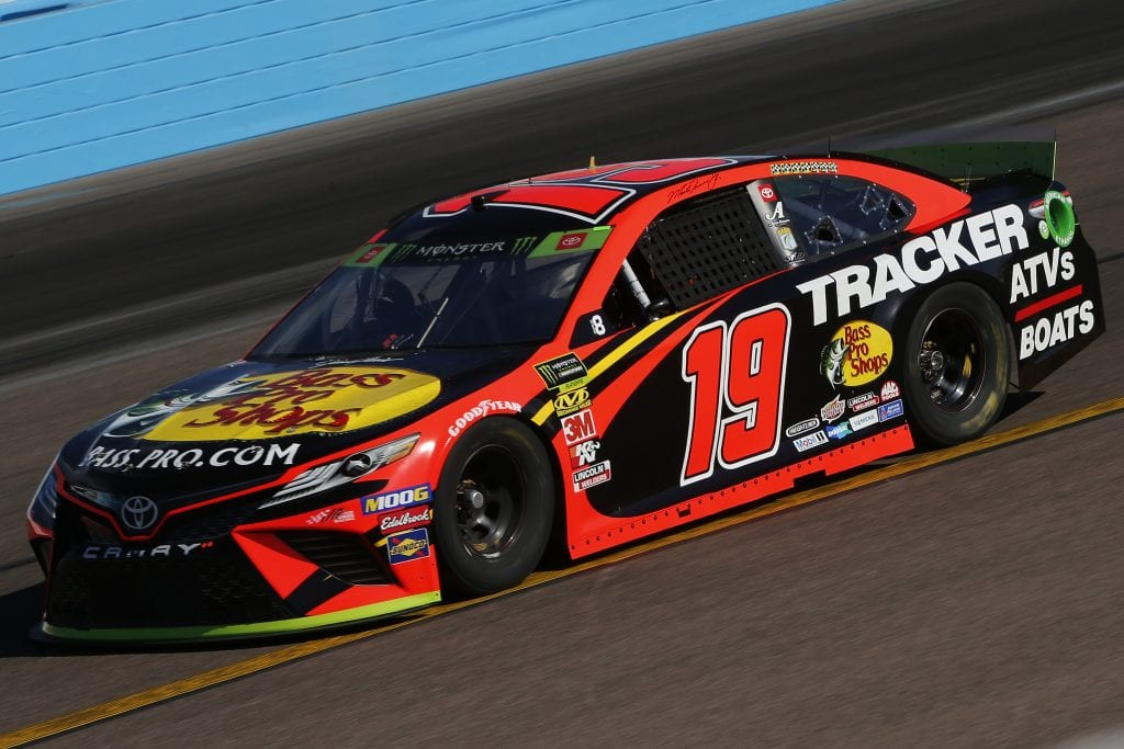 AVONDALE, ARIZONA - NOVEMBER 08: Martin Truex Jr., driver of the #19 Bass Pro Shops Toyota, practices for the Monster Energy NASCAR Cup Series Bluegreen Vacations 500 at ISM Raceway on November 08, 2019 in Avondale, Arizona. (Photo by Jonathan Ferrey/Getty Images) | Getty Images