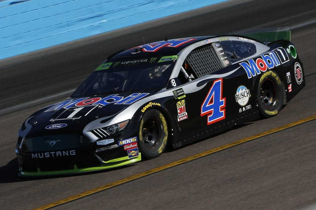AVONDALE, ARIZONA - NOVEMBER 08: Kevin Harvick, driver of the #4 Mobil 1 Ford, practices for the Monster Energy NASCAR Cup Series Bluegreen Vacations 500 at ISM Raceway on November 08, 2019 in Avondale, Arizona. (Photo by Jonathan Ferrey/Getty Images) | Getty Images