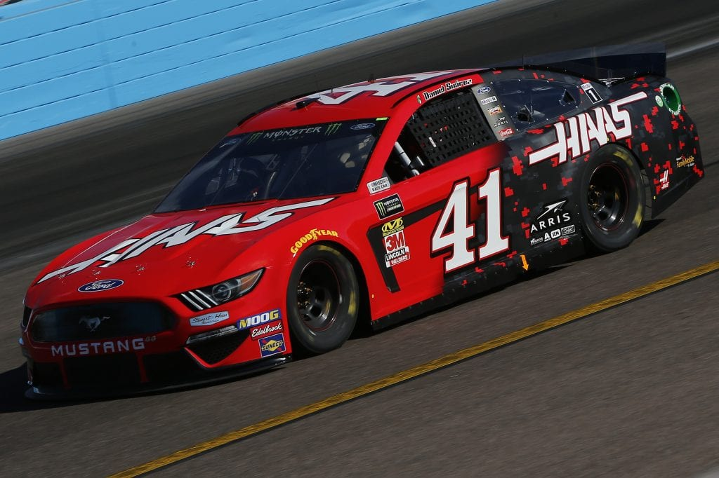 AVONDALE, ARIZONA - NOVEMBER 08: Daniel Suarez, driver of the #41 Haas Automation Ford, practices for the Monster Energy NASCAR Cup Series Bluegreen Vacations 500 at ISM Raceway on November 08, 2019 in Avondale, Arizona. (Photo by Jonathan Ferrey/Getty Images) | Getty Images
