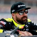 TALLADEGA, ALABAMA - OCTOBER 12: Paul Menard, driver of the #21 Menards/Tarkett Ford, stands on the grid during qualifying for the Monster Energy NASCAR Cup Series 1000Bulbs.com 500 at Talladega Superspeedway on October 12, 2019 in Talladega, Alabama. (Photo by Sean Gardner/Getty Images) | Getty Images
