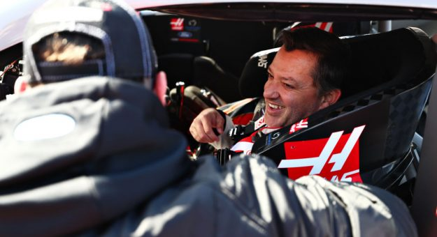 AUSTIN, TEXAS - OCTOBER 31: Former NASCAR driver Tony Stewart of United States prepares to drive the No.14 Haas Automation Ford Mustang in a demonstration run during previews ahead of the F1 Grand Prix of USA at Circuit of The Americas on October 31, 2019 in Austin, Texas. (Photo by Dan Istitene/Getty Images) | Getty Images
