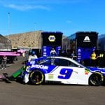 AVONDALE, ARIZONA - NOVEMBER 10: The #9 NAPA Autocare Center Chevrolet, driven by Chase Elliott (not pictured), is towed back to the garage area following an on-track incident during the Monster Energy NASCAR Cup Series Bluegreen Vacations 500 at ISM Raceway on November 10, 2019 in Avondale, Arizona. (Photo by Jared C. Tilton/Getty Images) | Getty Images