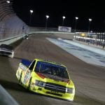 HOMESTEAD, FLORIDA - NOVEMBER 15: Matt Crafton, driver of the #88 Jack Links/Menards Ford, races during the NASCAR Gander Outdoors Truck Series Ford EcoBoost 200 at Homestead-Miami Speedway on November 15, 2019 in Homestead, Florida. (Photo by Brian Lawdermilk/Getty Images) | Getty Images